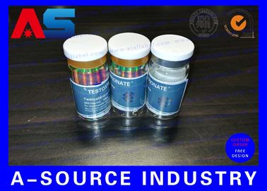 10ml Printed Labels On A Roll Holographic Prescription Vial Label 4C Full Color