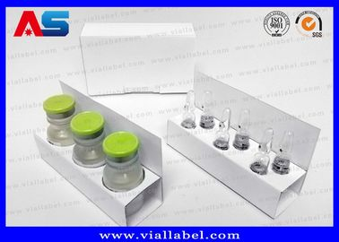 SGS Cardboard Storage GH Boxes With Lids / Paper Pharmaceutical Cartons